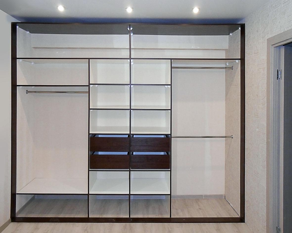 встроенные шкафы фото дизайн внутри с размерами обои